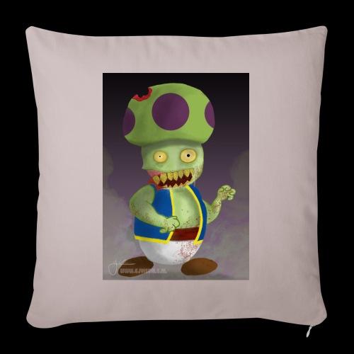 SuperMario: Zombie Toad - Bankkussen met vulling 44 x 44 cm
