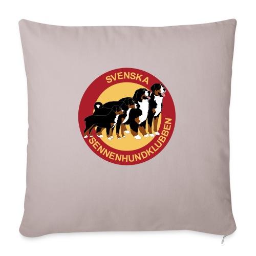 Sennenhundklubben - Soffkudde med stoppning 44 x 44 cm