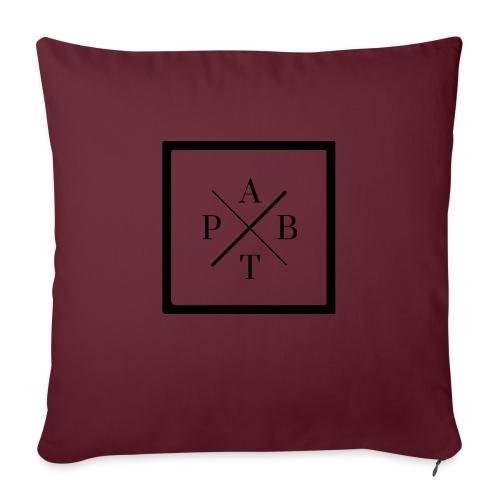Transparent - Sofa pillow with filling 45cm x 45cm