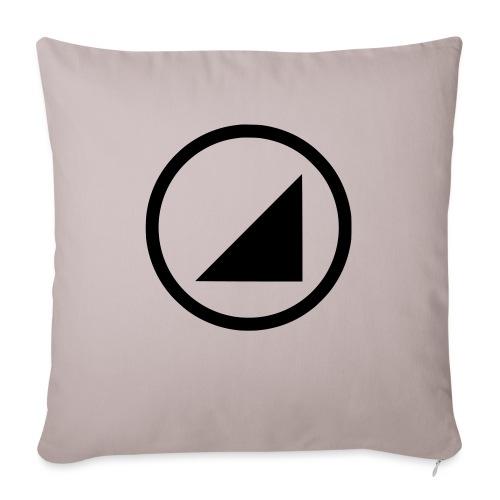 bulgebull marca oscura - Cojín de sofá con relleno 44 x 44 cm