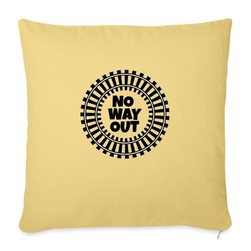 no way out - Cojín de sofá con relleno 44 x 44 cm
