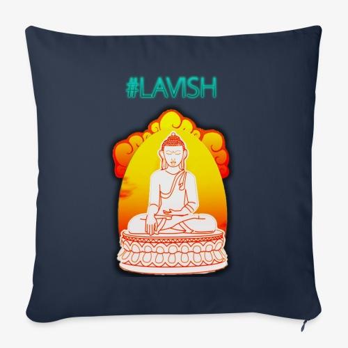 #Lavish - Coussin et housse de 45 x 45 cm