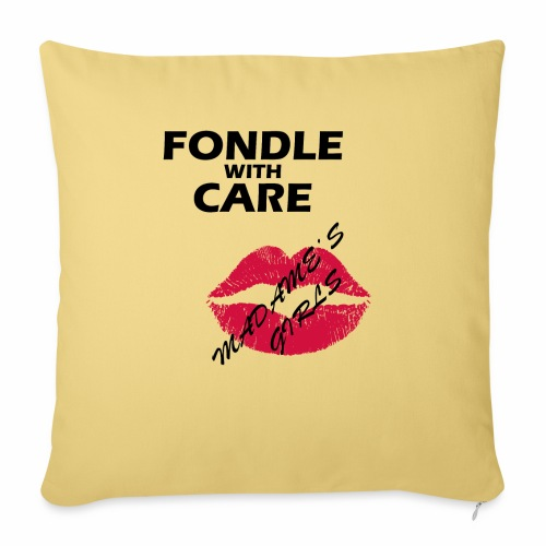 Fondle with Care - Sofa pillow with filling 45cm x 45cm
