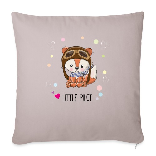 The cute bear - Sofa pillow with filling 45cm x 45cm