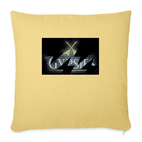 GYPSIES BAND LOGO - Sofa pillow with filling 45cm x 45cm