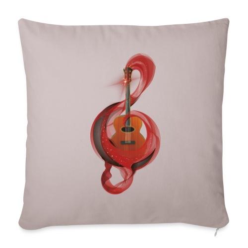 Power of music - Cuscino da divano 44 x 44 cm con riempimento