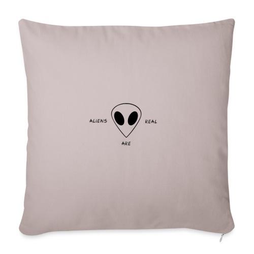 Les aliens sont réels - Coussin et housse de 45 x 45 cm