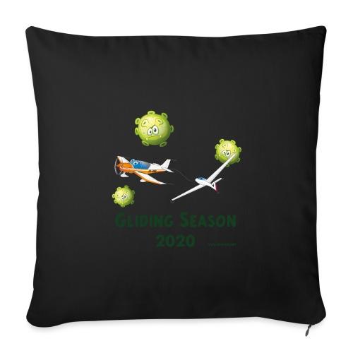 Gliding Season 2020 - drag - Sofa pillow with filling 45cm x 45cm