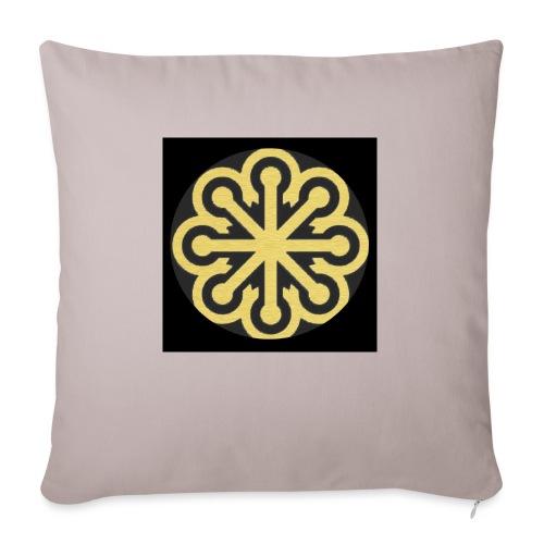 BGLogoGOLD - Sofa pillow with filling 45cm x 45cm