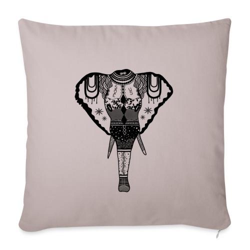 Elephant - Sofakissen mit Füllung 44 x 44 cm