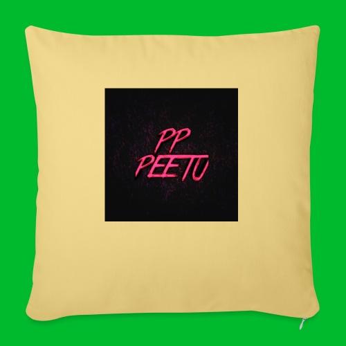Ppppeetu logo - Sohvatyynyt täytteellä 44 x 44 cm