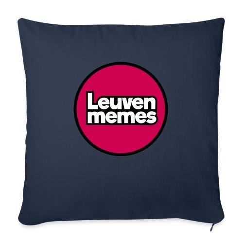Logo LeuvenMemes - Coussin et housse de 45 x 45 cm