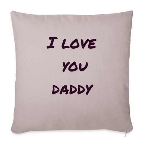 Ich liebe dich Papa - Vatertagsgeschenktipp - Sofakissen mit Füllung 44 x 44 cm
