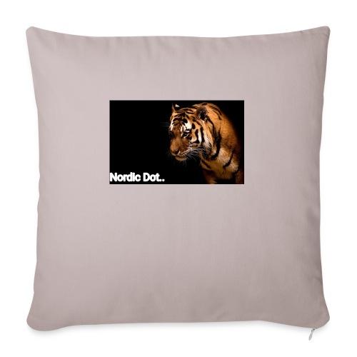 Tiger - Sofapude med fyld 44 x 44 cm