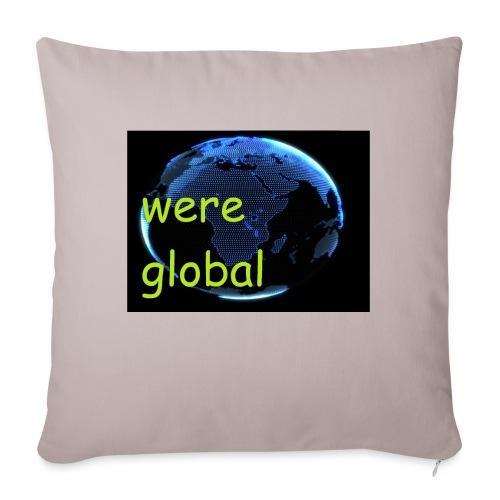 Were Global - Sohvatyynyt täytteellä 44 x 44 cm