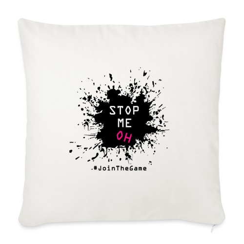 Stop me oh - Sofa pillow with filling 45cm x 45cm