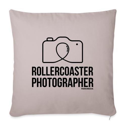 Photographe de montagnes russes - Coussin et housse de 45 x 45 cm