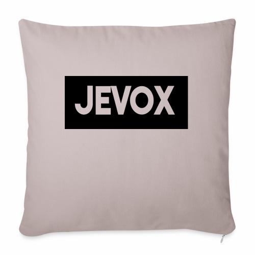 Jevox Black - Bankkussen met vulling 44 x 44 cm