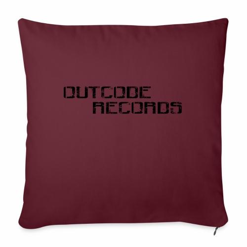 Letras para gorra - Cojín de sofá con relleno 44 x 44 cm