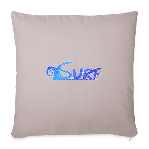 Waves for Surf - Cuscino da divano 44 x 44 cm con riempimento