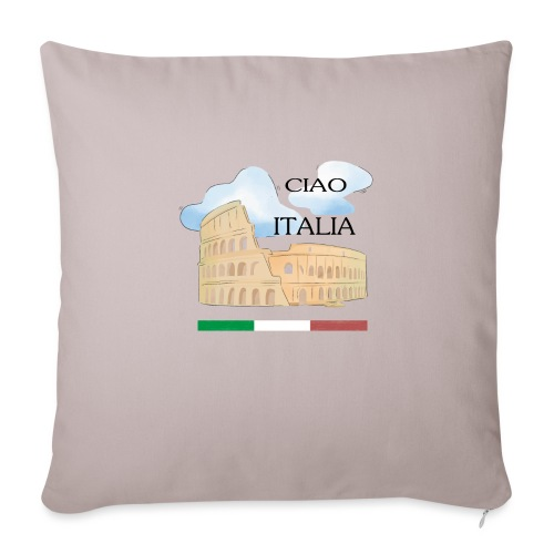 hello italy T-Shirts - Sofa pillow with filling 45cm x 45cm