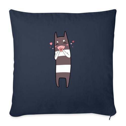 Donut Monster - Sofa pillow with filling 45cm x 45cm
