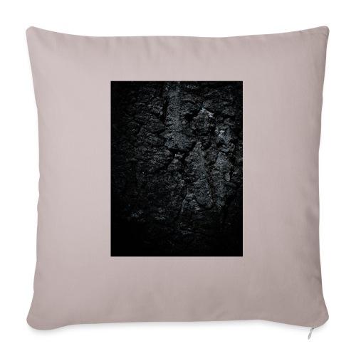 Charcoal stone - Bankkussen met vulling 44 x 44 cm