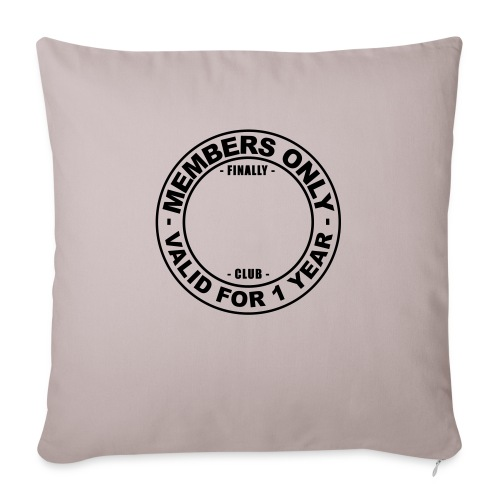 Finally XX club (template) - Sofa pillow with filling 45cm x 45cm