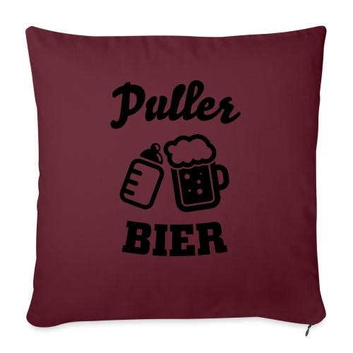 Puller Bier - Sofakissen mit Füllung 44 x 44 cm