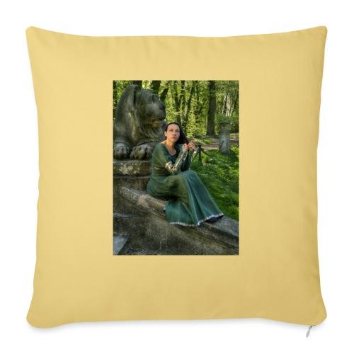 Stone Guardian - Poduszka na kanapę z wkładem 44 x 44 cm