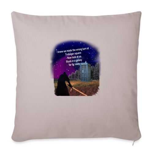 Bad Parking - Sofa pillow with filling 45cm x 45cm