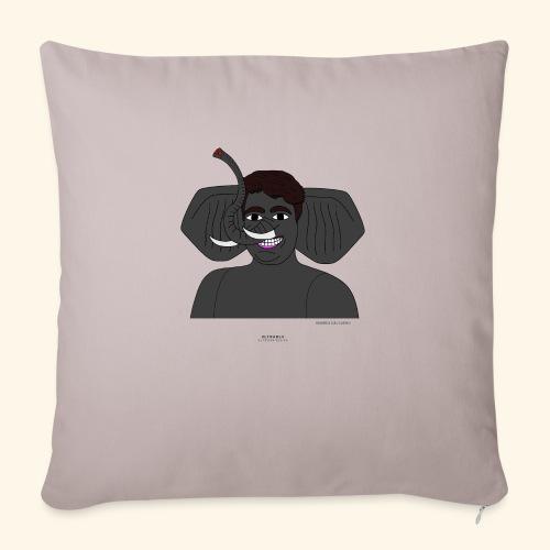 Andrea elefante - Cuscino da divano 44 x 44 cm con riempimento