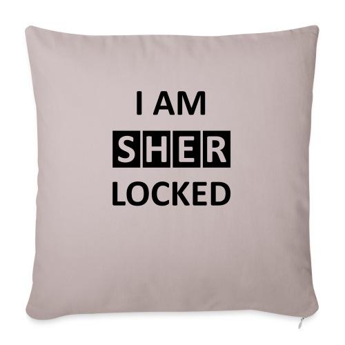 I AM SHERLOCKED - Sofakissen mit Füllung 44 x 44 cm