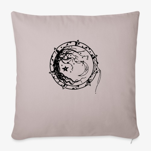 Tree of Life - Sofa pillow with filling 45cm x 45cm