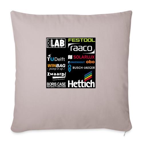 Sponsors back - Sofa pillow with filling 45cm x 45cm