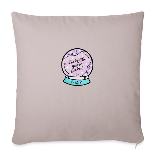 2020 Worst Year Ever Psychic - Sofa pillow with filling 45cm x 45cm