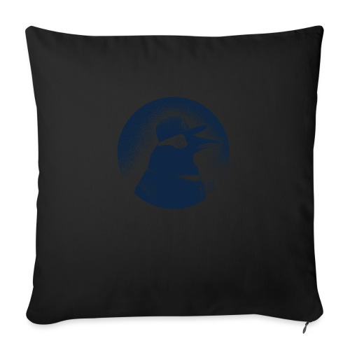 Pinguin dressed in black - Sofa pillow with filling 45cm x 45cm