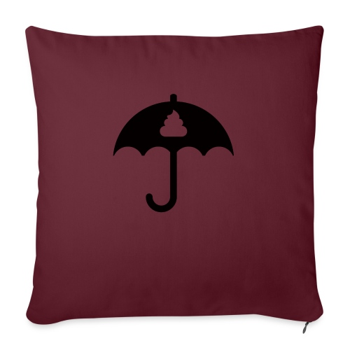 Shit icon Black png - Sofa pillow with filling 45cm x 45cm