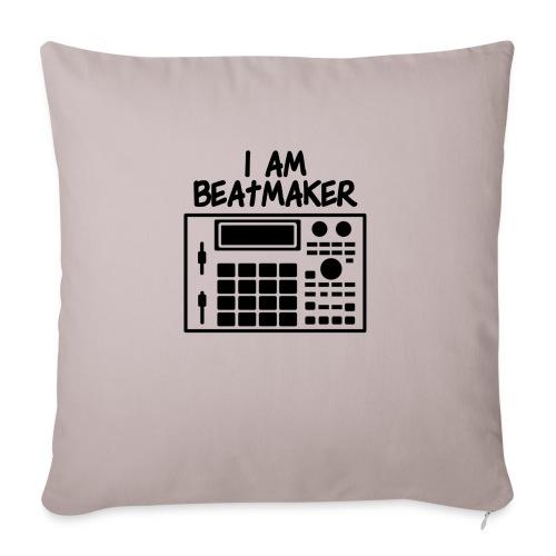 i am beatmaker - Coussin et housse de 45 x 45 cm