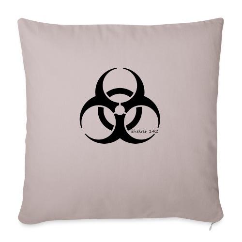 Biohazard - Shelter 142 - Sofakissen mit Füllung 44 x 44 cm