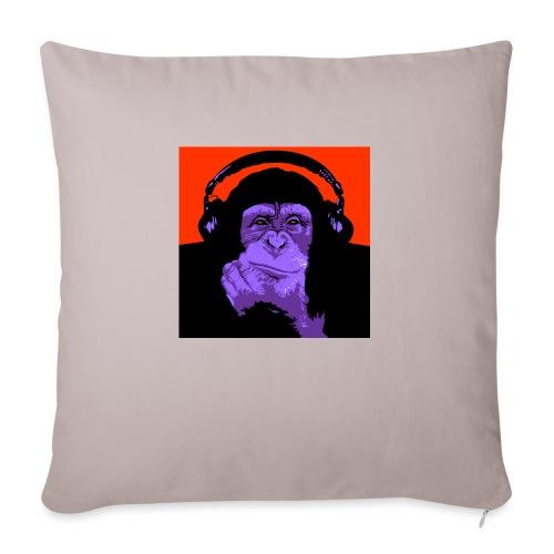 project dj monkey - Bankkussen met vulling 44 x 44 cm