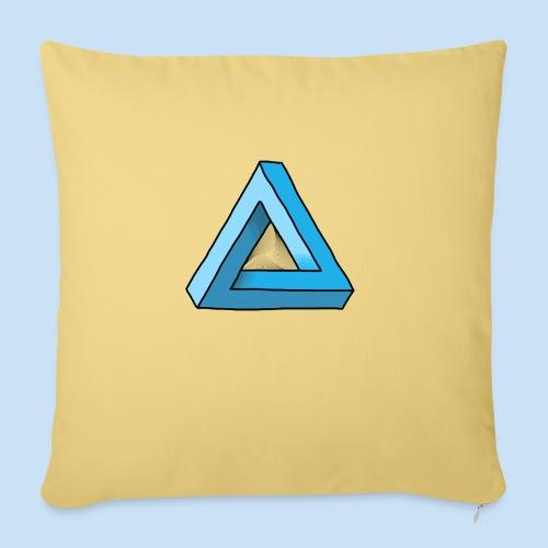 Triangular - Sofakissen mit Füllung 44 x 44 cm