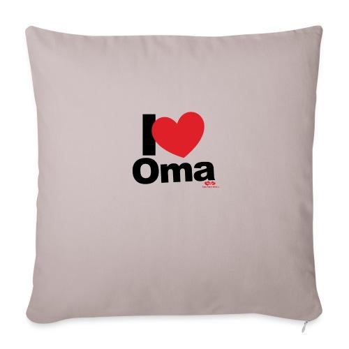 I Love Oma - Sofakissen mit Füllung 44 x 44 cm