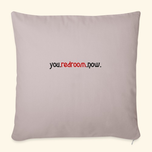 you redroom now - Sofa pillow with filling 45cm x 45cm
