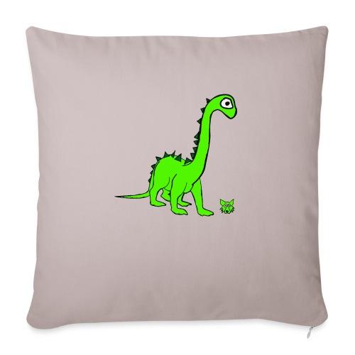 dinosauro - Cuscino da divano 44 x 44 cm con riempimento