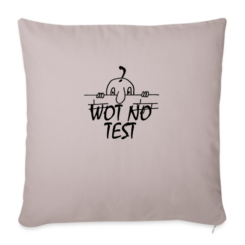 WOT NO TEST - Sofa pillow with filling 45cm x 45cm