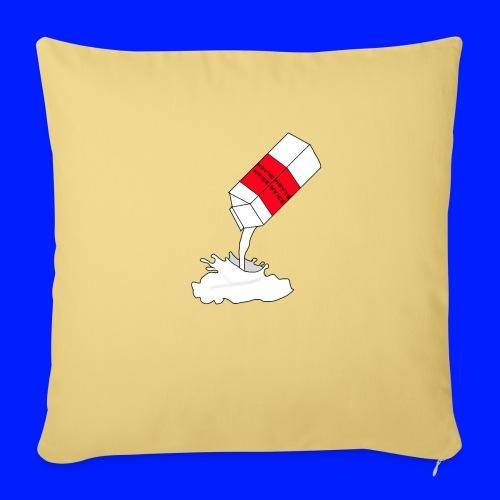 milk for rockstars - Soffkudde med stoppning 44 x 44 cm