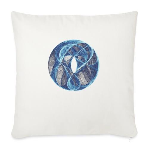 Winde des Herzens 10051ice - Sofakissen mit Füllung 44 x 44 cm