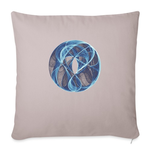 Winds of the Heart 10051ice - Sofa pillow with filling 45cm x 45cm