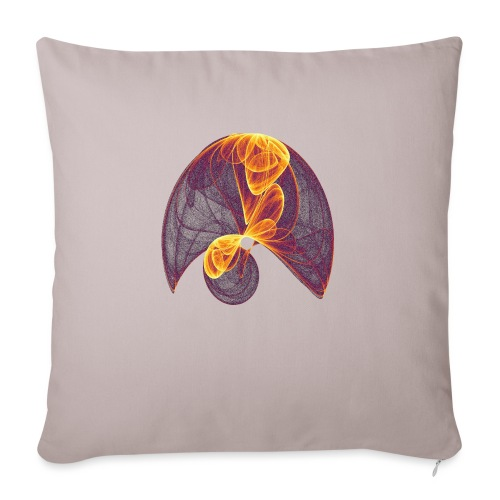Parachute in the Inferno - Sofa pillow with filling 45cm x 45cm